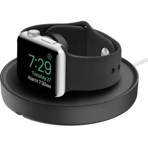 Apple doplňky UNIQ Dome nabíjecí stojánek pro Apple Watch černý - SLEVA