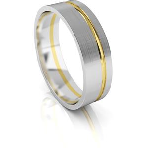 Art Diamond Pánský snubní prsten ze zlata AUG139 66 mm