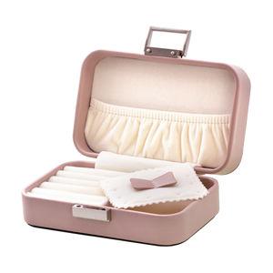 Beneto Krásná pudrově růžová cestovní šperkovnice JWL BOX 04 - SLEVA