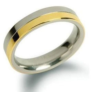 Boccia Titanium Snubní titanový prsten 0129-02 72 mm
