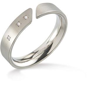 Boccia Titanium Titanový prsten s diamanty 0140-02 55 mm