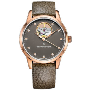Claude Bernard Open Heart Automatic 85018 37R TAPR1