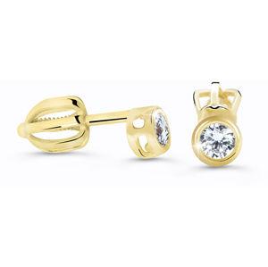 Cutie Jewellery Jemné náušnice Z62231-30-X-1 bílá