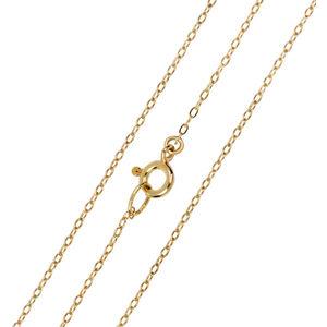 Brilio Elegantní zlatý řetízek Anker 60 cm 271 115 00297