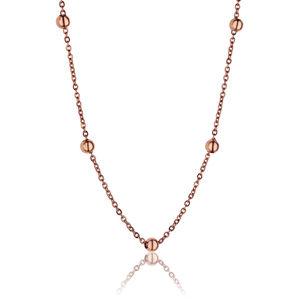 Emily Westwood Růžově pozlacený náhrdelník WN1017R