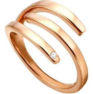 Esprit Stylový bronzový prsten Iva ESRG001616 57 mm