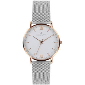 Frederic Graff Rose Dent Blanche Silver Mesh FAG-3220R