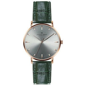 Frederic Graff Rose Eveque Croco dark green FBK-B004R