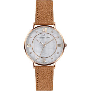 Frederic Graff Rose Liskamm Lychee ginger brown Leather FAI-B017R