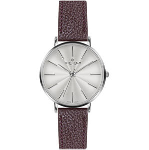 Frederic Graff Silver Monte Rosa Lychee bordeaux Leather FAL-B016S