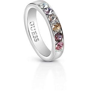 Guess Nadčasový prsten s krystaly UBR83037 52 mm