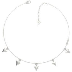 Guess Ocelový náhrdelník s přívěsky UBN70053