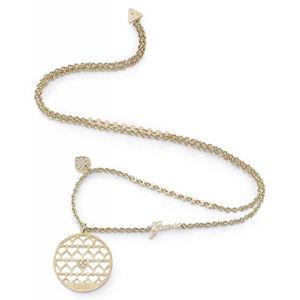 Guess Výrazný zlacený náhrdelník Jamila UBN85020