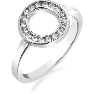 Hot Diamonds Prsten Emozioni Saturno Silver ER001 56 mm