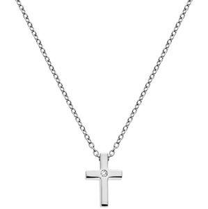 Hot Diamonds Stříbrný náhrdelník s křížkem Amulets DP745
