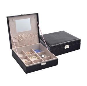 JK Box Černá šperkovnice SP-825/A25