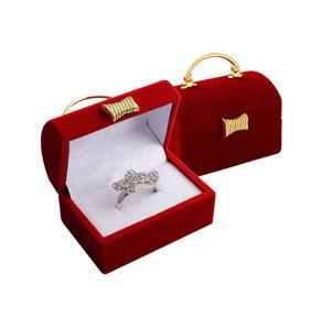 JK Box Dárková krabička na prsten nebo náušnice Kabelka FU-98/A7