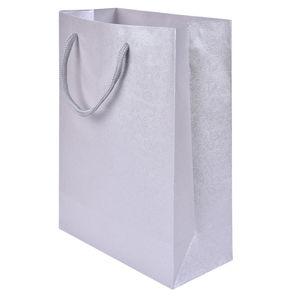 JK Box Dárková stříbrná taška TQ-13/AG