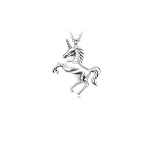 JVD Moderní stříbrný přívěsek Jednorožec SVLP0550XH20000