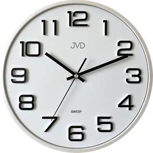 JVD Nástěnné hodiny s tichým chodem HX2472.3