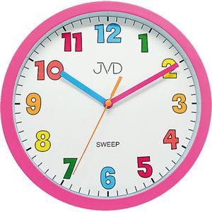 JVD Nástěnné hodiny s tichým chodem HA46.2