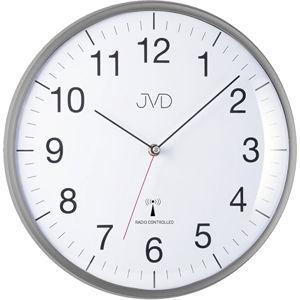 JVD Radiově řízené Nástěnné hodiny RH16.2 - Grey Radiově řízené Nástěnné hodiny RH16.1 - Silver