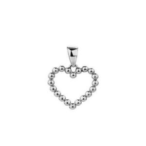 JVD Romantický stříbrný přívěsek Srdce SVLP0390SH20000