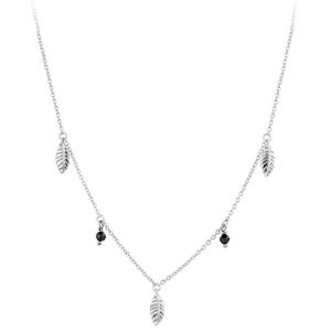 JVD Stříbrný náhrdelník s přívěsky SVLN0175XH2ON00