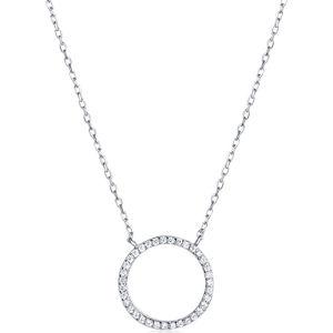 JVD Stříbrný náhrdelník SVLN0043XD5GO45