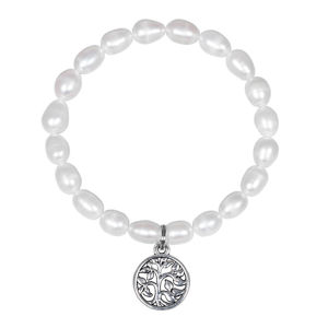 JwL Luxury Pearls Perlový náramek Strom života JL0549