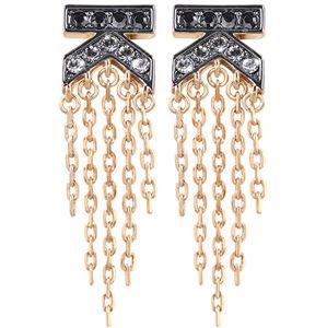 Karl Lagerfeld Luxusní náušnice K Fringe Post 5465718