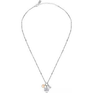 La Petite Story Dámský ocelový náhrdelník s přívěsky Strom života Family LPS05ASF17