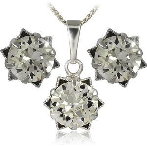 MHM Souprava šperků Daisy 34196 (náušnice, řetízek, přívěsek)