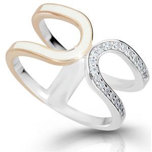 Modesi Moderní stříbrný prsten M11078 52 mm