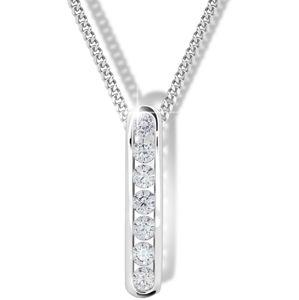 Modesi Něžný náhrdelník pro ženy M41100 (řetízek, přívěsek)