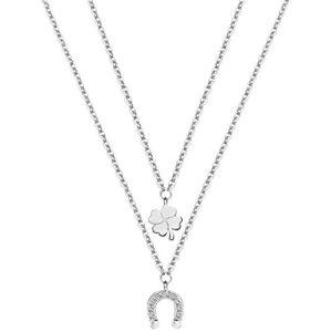 Morellato Ocelový náhrdelník pro štěstí Enjoy SAIY02