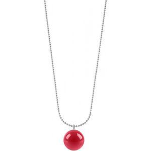 Morellato Ocelový náhrdelník s růžovým přívěskem Boule SALY15