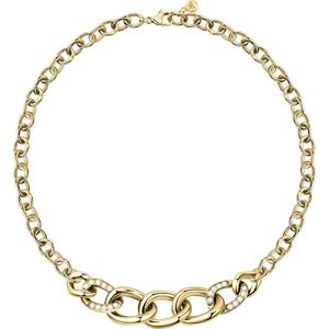 Morellato Pozlacený ocelový náhrdelník s masivním detailem Unica SATS02