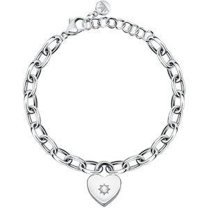Morellato Zamilovaný náramek Srdce s krystalem Dolcevita SAUB11