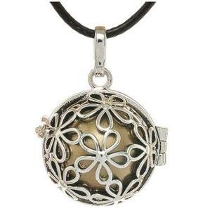 MUMMY BELL Dámský náhrdelník Rolnička Malé kytičky K2SH18