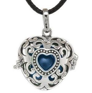MUMMY BELL Dámský náhrdelník Rolnička Srdce Vintage K9SM18