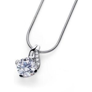 Oliver Weber Stříbrný náhrdelník Succes 61139R (řetízek, přívěsek)