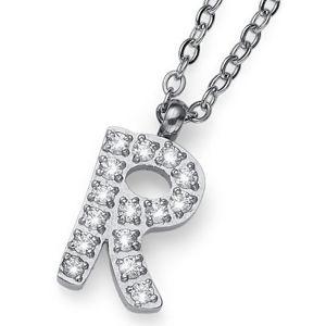 Oliver Weber Stylový náhrdelník Initial R 11847