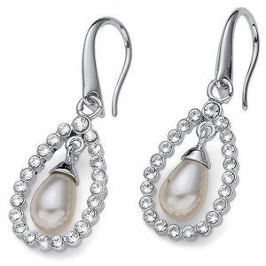 Oliver Weber Třpytivé náušnice s perlou Pearl Drop 22773