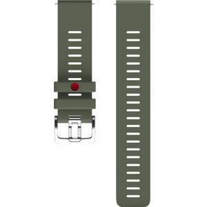 Polar Řemínek 22 mm zelený M/L 91082601
