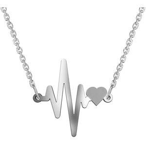 Praqia Originální stříbrný náhrdelník Lisa N6319