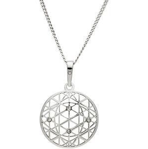 Praqia Tajemný stříbrný náhrdelník KO1594_CU040_50_RH  (řetízek, přívěsek)