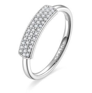 Rosato Originální stříbrný prsten se zirkony Futura RZFU31 52 mm