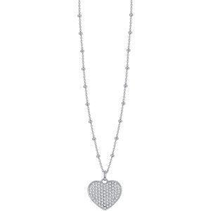 Rosato Romantický stříbrný náhrdelník Storie RZC048 (řetízek, přívěsek)