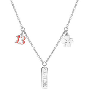 S`Agapõ Ocelový náhrdelník pro štěstí Get Lucky SGY02